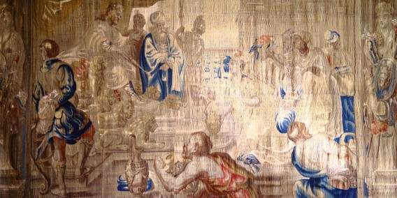 Unravelling the origins of the Strachan Hall tapestry
