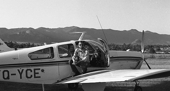 Montieth Illingworth '80 in Rhodesia