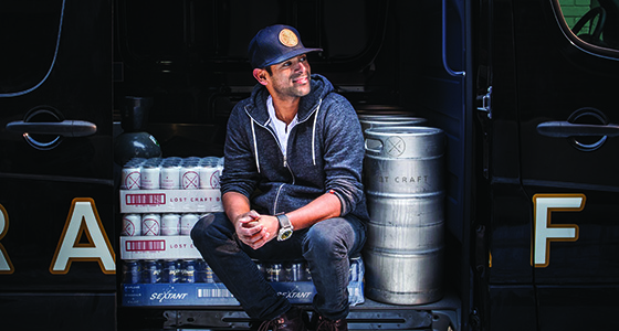 Shehan DeSilva of Lost Craft Brewery