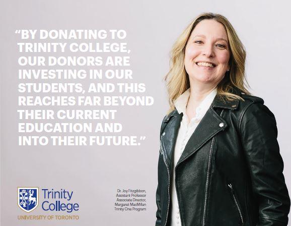 Trinity students