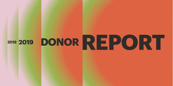 2018 – 2019 Donor Report