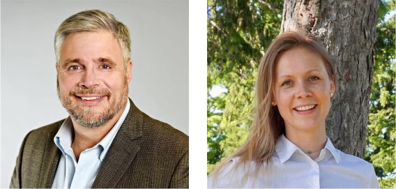 Stephen Scharper and Nicole Spiegelaar